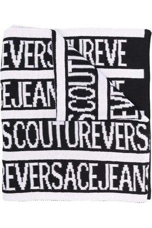VERSACE Logo Scarf Black