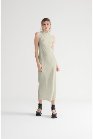 Symetria Women Casual Dresses - Core Slip Dress - Pumice