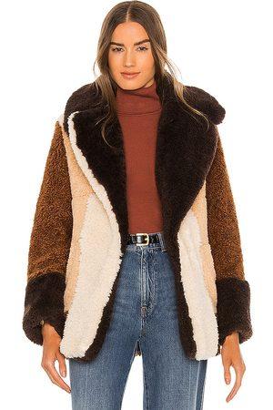 A.L.C. Stefan Faux Fur Coat in .