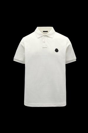 Moncler Men Polo Shirts - Polo with logo