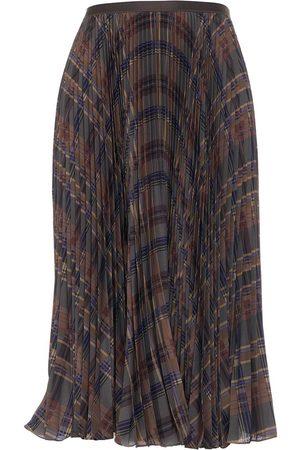 Ralph Lauren Midi skirt with glencheck print