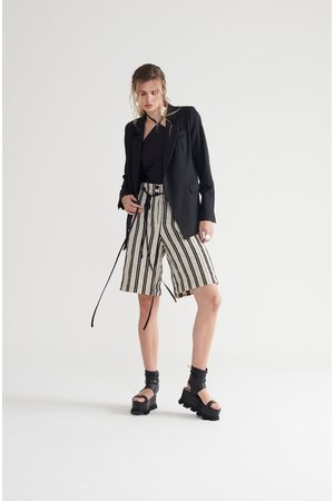 Symetria Stripe Subvert Short - Pumice Stripe