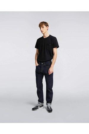 Edwin Men Slim - ED-80 Slim Tapered Red Listed Selvage Denim, 14oz, Rinsed Jeans