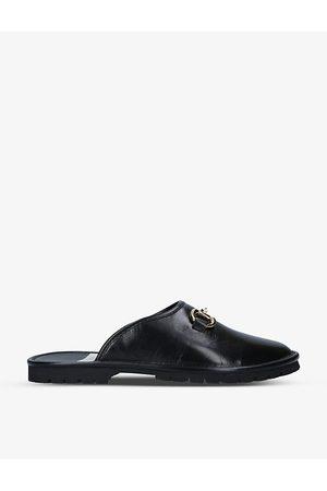Gucci Elea horsebit-embellished leather mules
