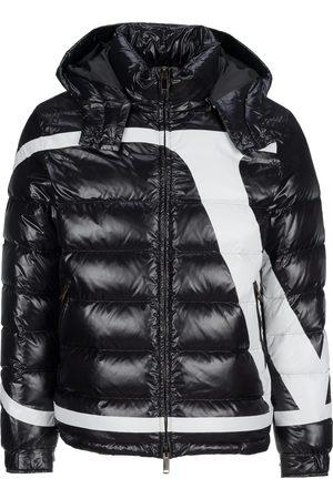 VALENTINO Nylon puffer jacket with VLogo Signature print