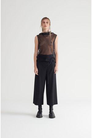 Symetria Sleeveless Core Tunic - Sheer