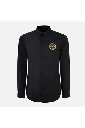 VERSACE Camicia manica lunga con logo