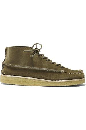 Yogi X Hikerdelic Men Lace-up Boots - Hikerdelic X Yogi Derek Chukka Boot - Olive
