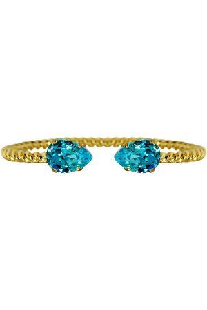Caroline Svedbom Mini Drop Bracelet - Aquamarine