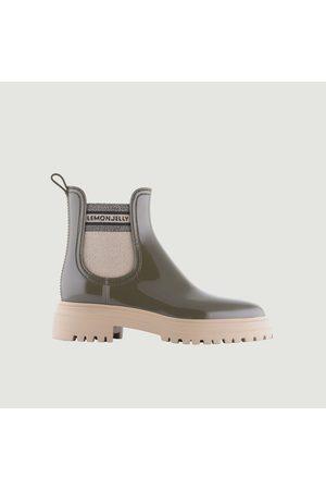 LEMON JELLY Flow 02 boots Khaki