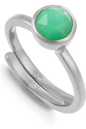 SVP JEWELLERY SVP Shine on Hope Chrysoprase Ring
