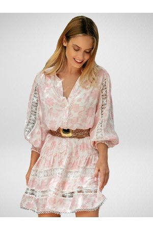 miss june Women Casual Dresses - Studio Dress White Lace