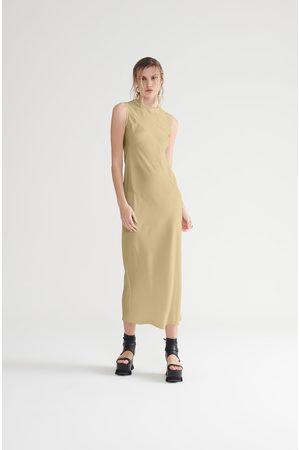 Symetria Core Slip Dress - Sandstone