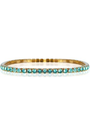 Caroline Svedbom Women Bracelets - Eya Stretch Bracelet - Light Turquoise