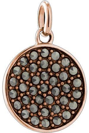 KIRSTIN ASH Bespoke Gem Circle Marcasite Charm - Rose Gold
