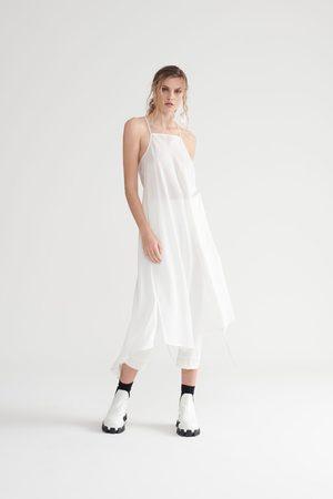 Symetria Uplift Slip Dress - Ivory