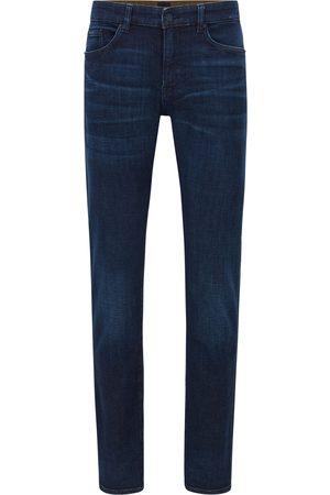 HUGO BOSS DELAWARE3-1 Slim-Fit Jeans In Cashmere-Touch Denim 50458110 412