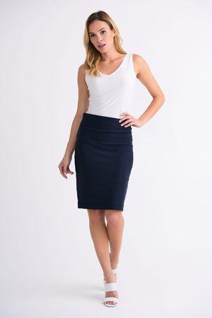 Joseph Ribkoff Navy Bandage Skirt Style 32330