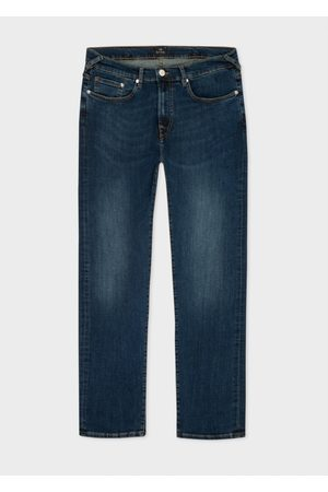 Paul Smith Tapered Slim Leg Jeans 32R, Colour: Mid Wash