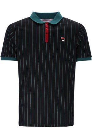 Fila BB1 Classic Striped Polo - June Bug/Black