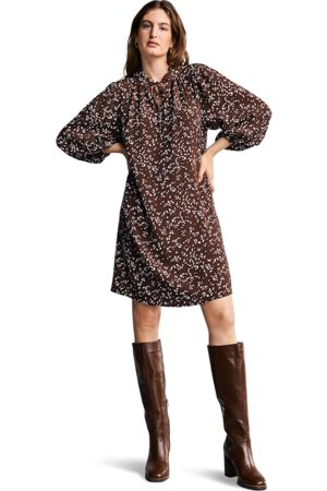 Riani Women Printed Dresses - Onyx Bambi Print Tunic Dress