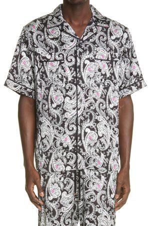 AMIRI Men's Paisley Print Pajama Shirt
