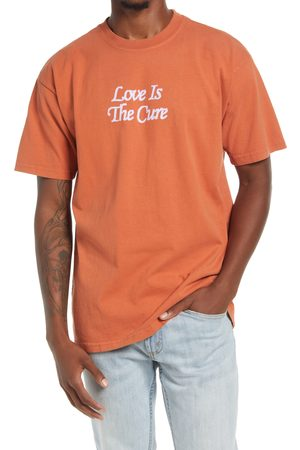 Obey Men's Love Is The Cure 2 Cotton Graphic Tee