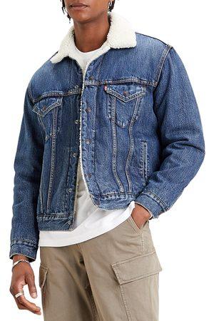 Levi's Men's Fleece Denim Vintage Fit Trucker Jacket