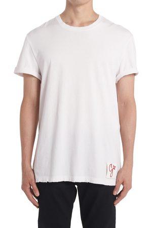 Golden Goose Men's Distressed Cotton T-Shirt