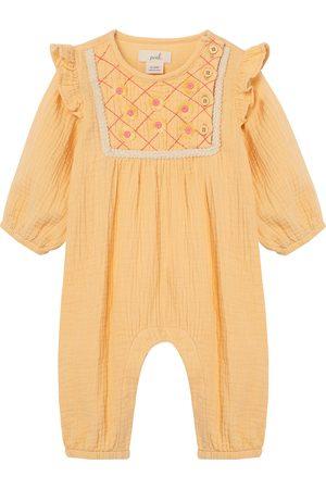 Peek Essentials Infant Girl's Embroidered Romper