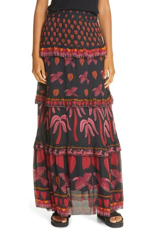 Farm Rio Women's Tropical Magic Maxi Skirt