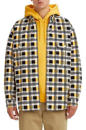 Levi's Men's Skate Plaid Button-Up Shirt Jacket