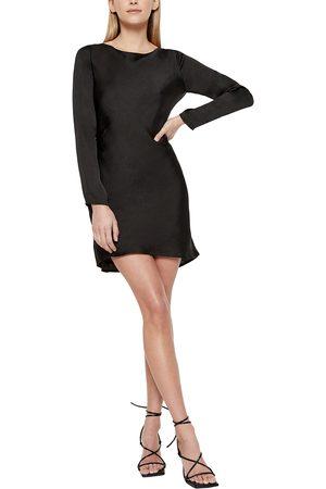 Bardot Women's River Open Back Long Sleeve Dress