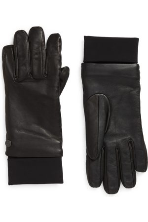 Canada Goose Men's Touchscreen Compatible Leather Gloves