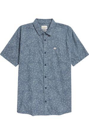 Quiksilver Boy's Kids' Mini Trip Floral Short Sleeve Button-Up Shirt
