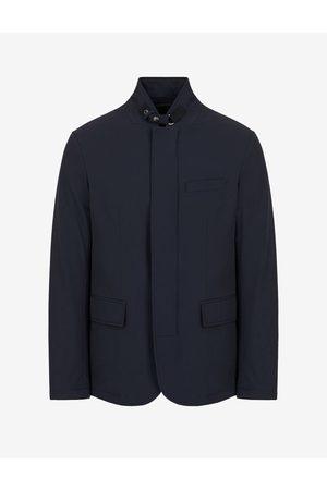 ARMANI EXCHANGE Men Blazers - Blazer Navy Polyamide, Elastane