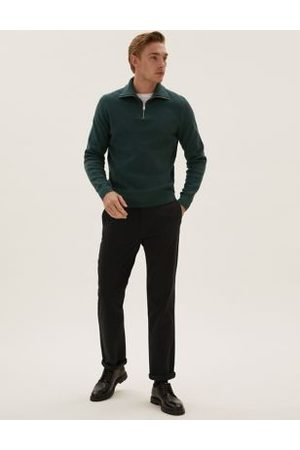 M&S Collection Regular Fit Organic Cotton Ultimate Chinos