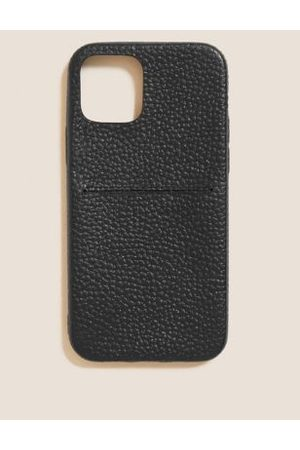 M&S Collection Leather iPhone 12 Case