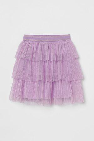 H & M Glittery Tulle Skirt