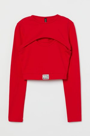 H & M Two-part Crop Top