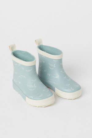 H&M Patterned Rubber Boots