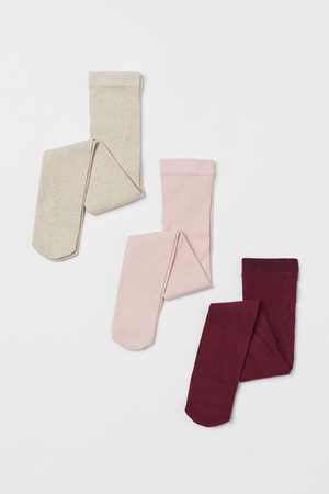 H & M 3-pack Fine-knit Tights