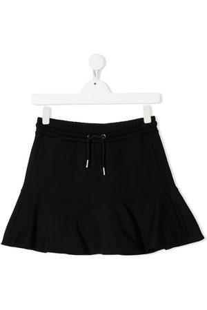 Diesel Drawstring cotton miniskirt