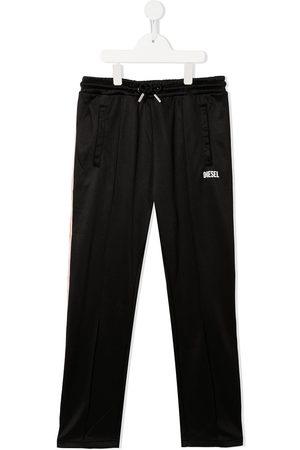 Diesel Kids Sweatpants - TEEN logo-print drawstring track pants - K900