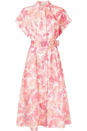 Rebecca Vallance Women Casual Dresses - Tropicale shirt-style midi dress
