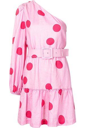 Rebecca Vallance Women Party Dresses - Dalia one-shoulder mini dress