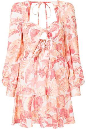 Rebecca Vallance Tropicale linen mini dress
