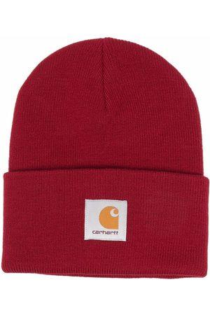 Carhartt WIP Purl-knit logo-patch beanie