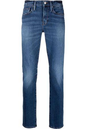 Frame Men Straight - Mid-rise straight-leg jeans
