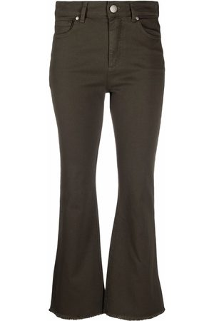 Federica Tosi Women Flares - Mid-rise flared jeans